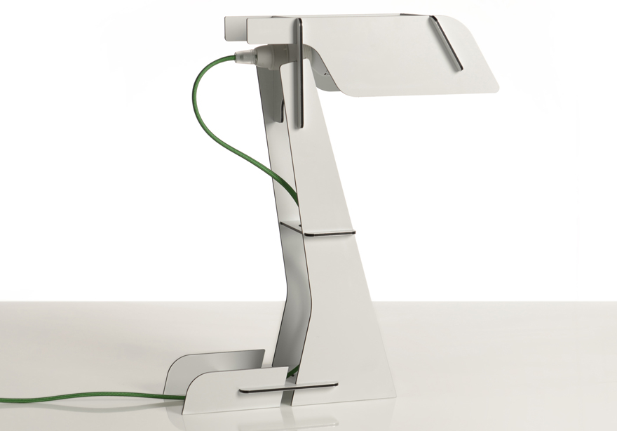 In The Details Designing A Snap Together Aluminum Desk Lamp