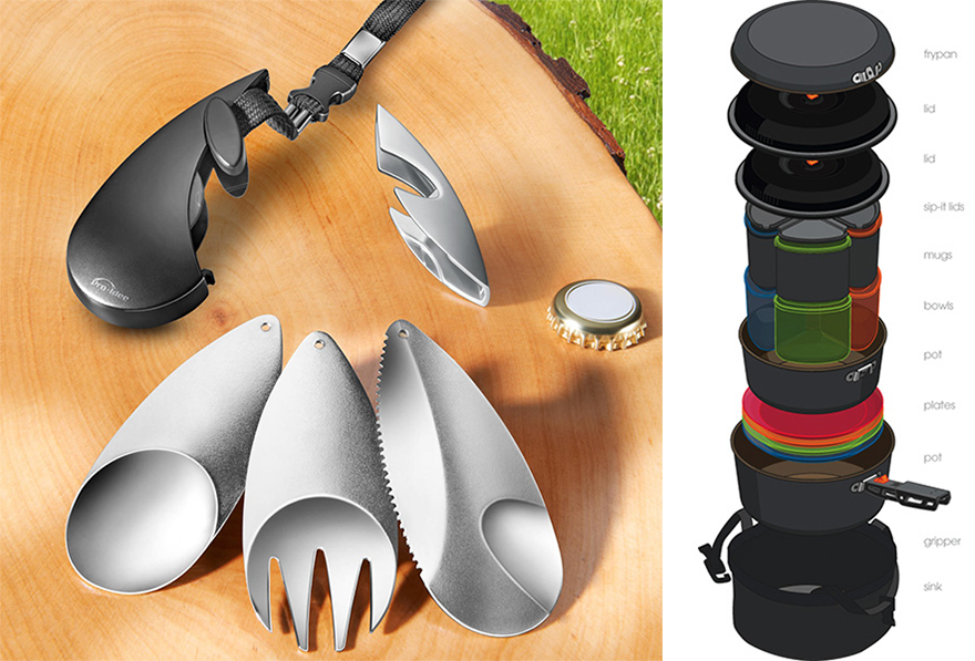 Clever Camping Cookware Designs Core77