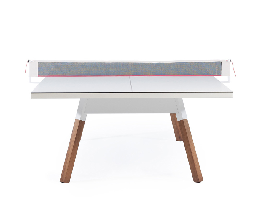 Behold The Perfect Desk For Working Dining And Hosting An After Hours Ping Pong Tournament