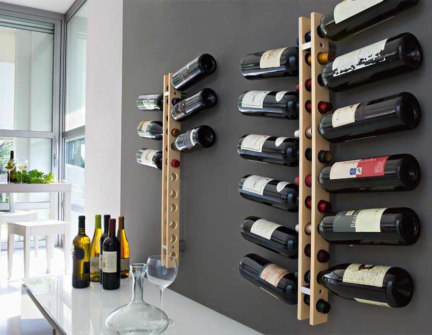 Wall Wine Racks Part - 46: Designing For Wine Storage - Core77