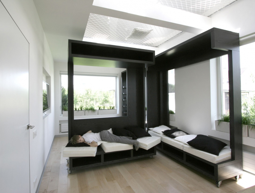 awesome giessegi modular living room furniture | Ruetemple's Awesome, Rollable, Modular Sofa-Room Thingy ...