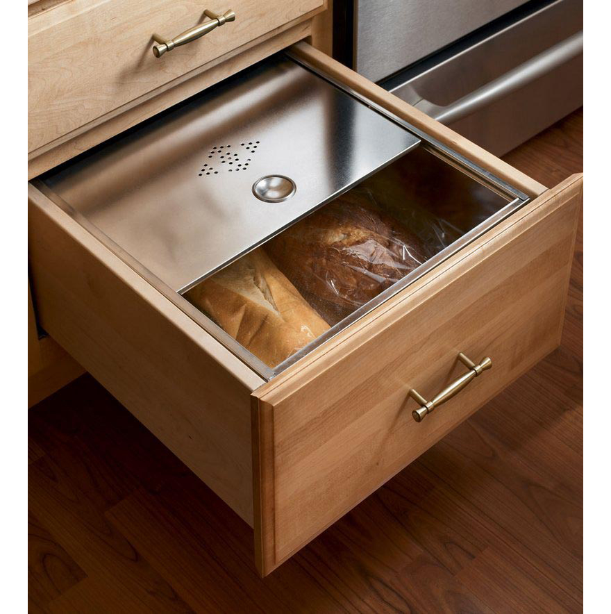 Got bread designing a better bread box core77 for Kitchen cabinet drawers