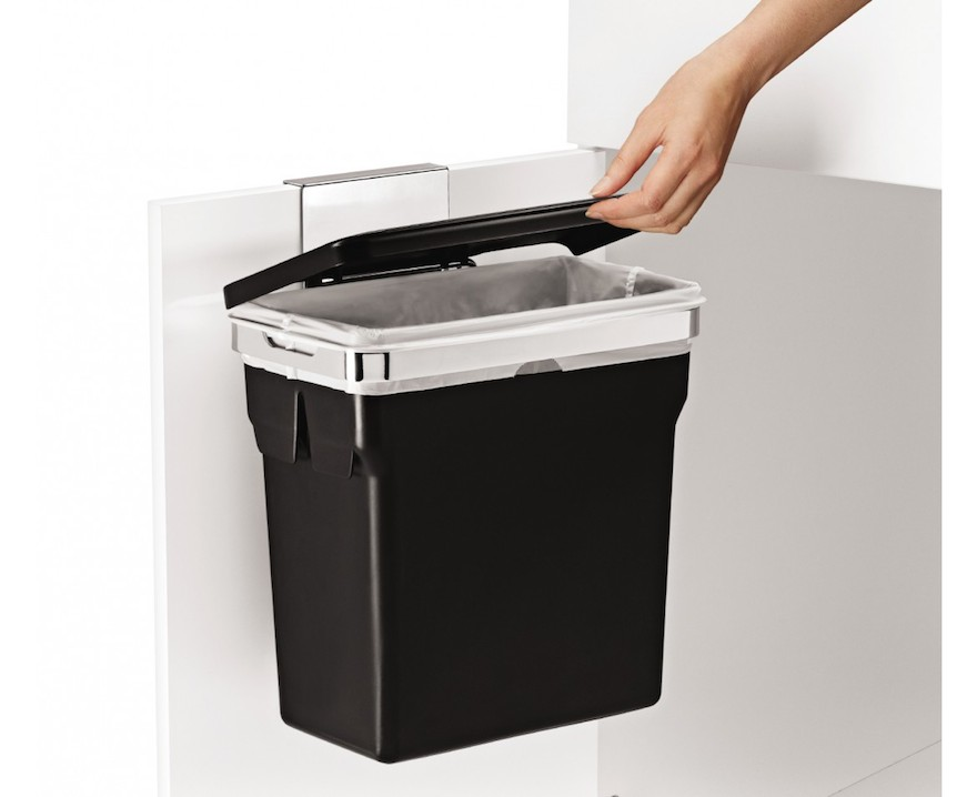 Kitchen Waste Basket Holder: Designing For Disposal, Part 2: Lidded Trash Cans