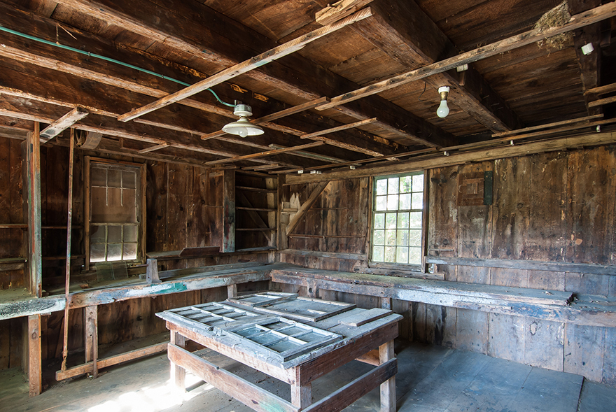 Largely Intact Woodworking Shop From The 1700s Discovered