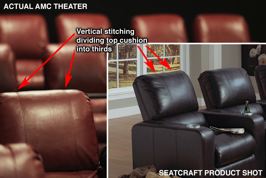 Alas after closer scrutiny the comparison starts to break down : amc theatre reclining seats - islam-shia.org