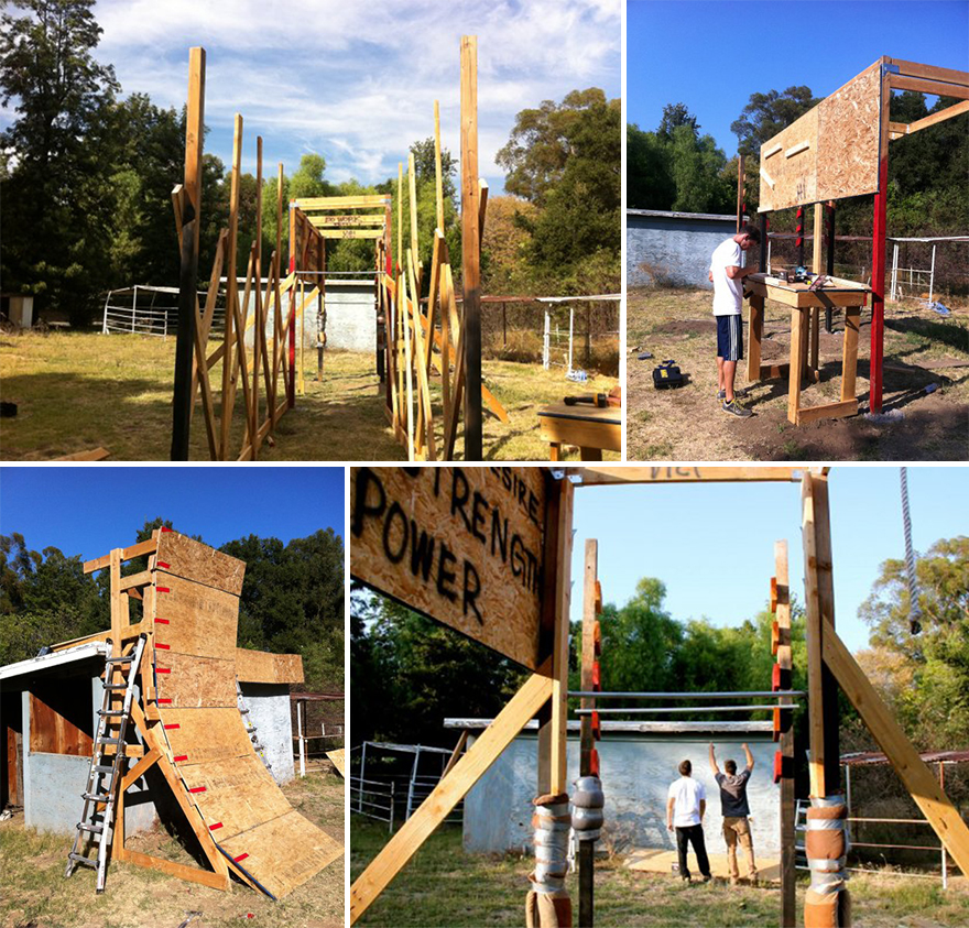 Backyard Ninja Warrior Plans : Six Ways to Get the Obstacle Course Experience  Core77