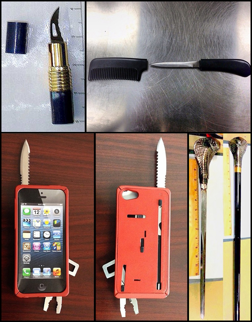 Instagram Page Reveals TSA's Everyday Smuggles - Core77