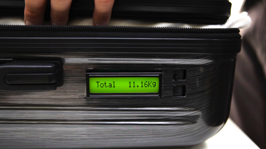 In the Details: Making a Suitcase That Can Weigh Itself - Core77