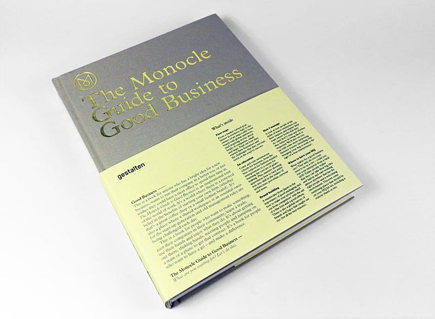Success Breeds Success: \'Monocle Guide to Good Business\' - Core77