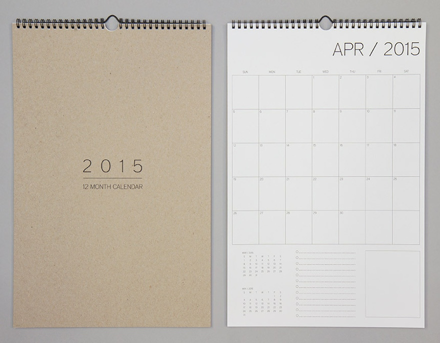 Organizing The Year: Designing Calendars And Planners - Core77