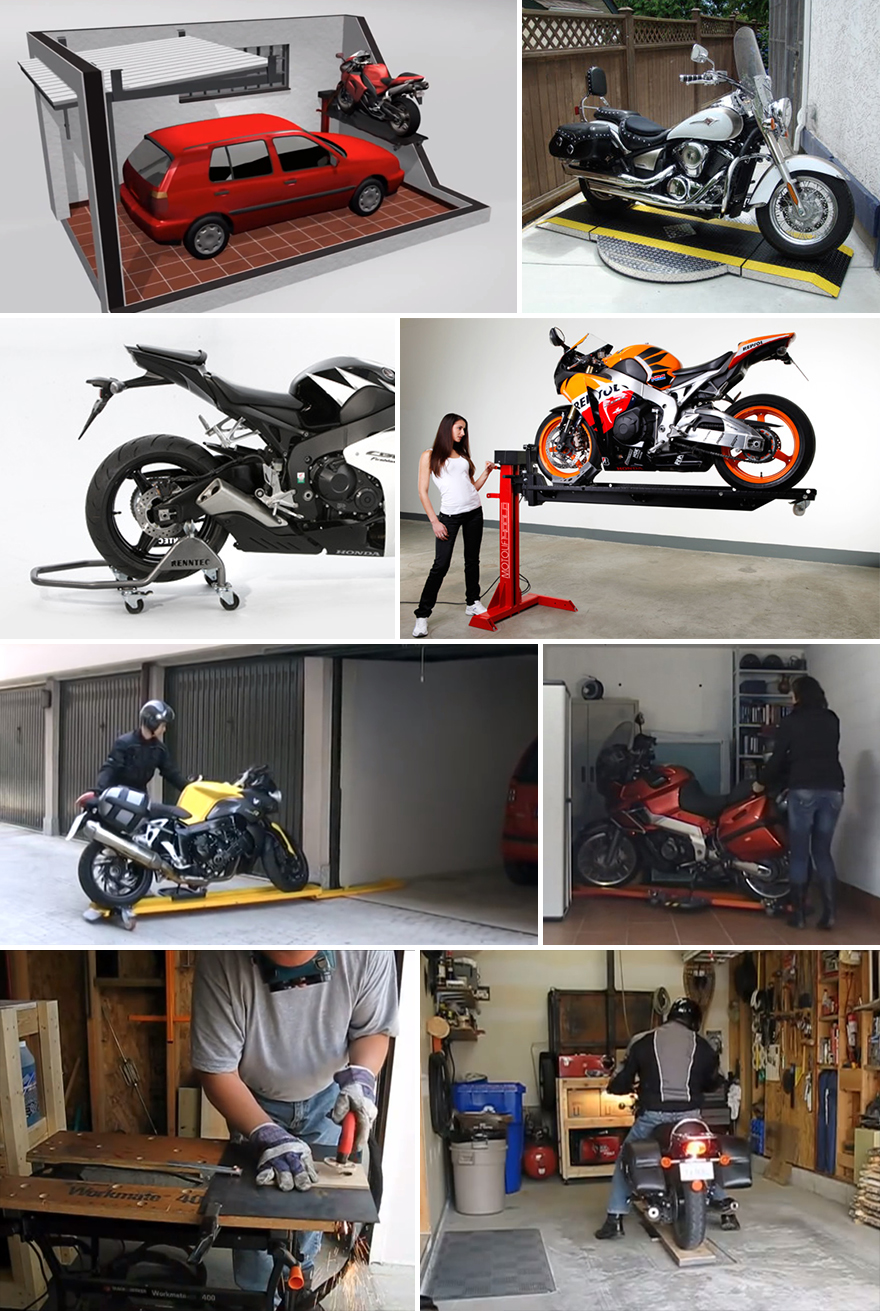 Motorcycle Storage Designs From Around The World Part 2