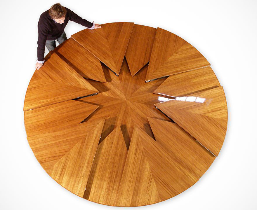 The Round Expanding Table To End All