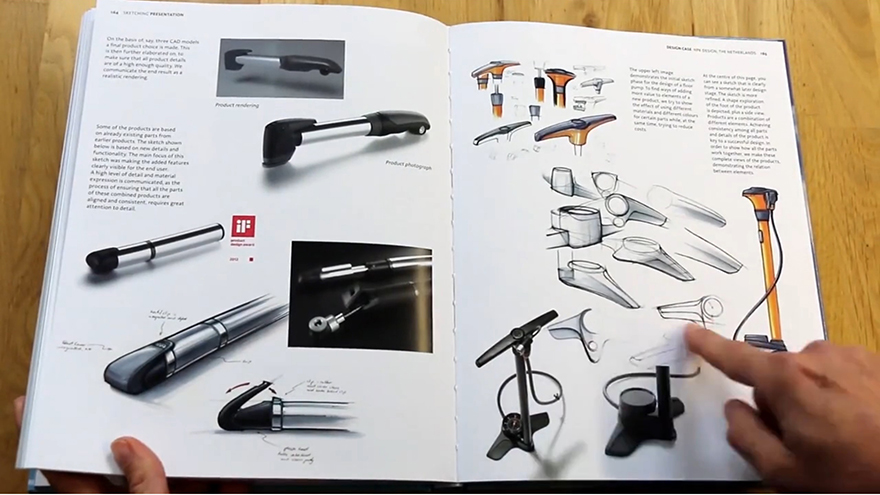 new sketching product design presentation book - New Product 2014