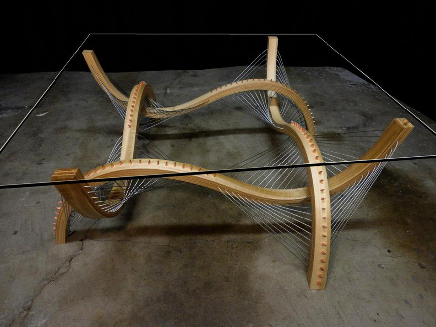 Robby Cuthbert S Furniture Designs Suspending Disbelief