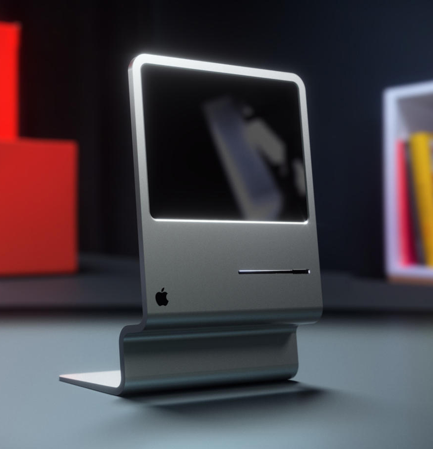 CURVED/labs' 2015 Take on the Classic Mac Design - Core77
