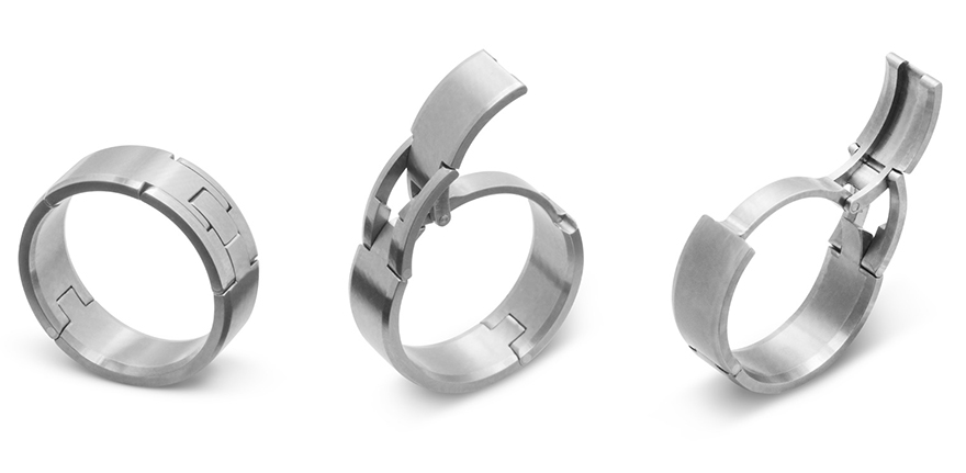 jeff mcwhinneys intelligent active wedding rings - How Much Is A Wedding Ring