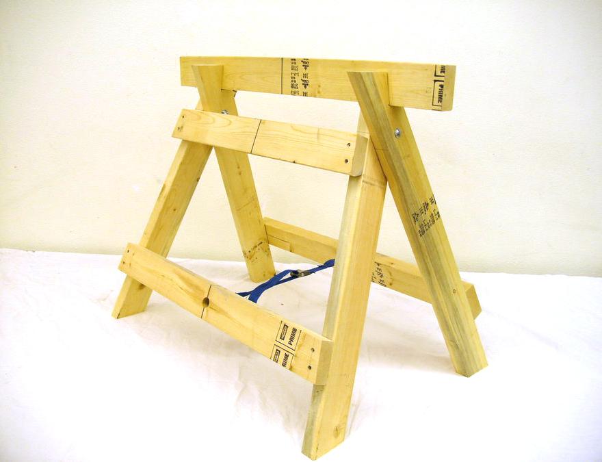 Козлы строительные складные своими руками