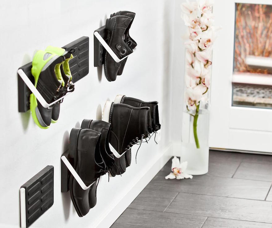 9 unusual shoe storage solutions core77 - Home decorating ideas clever and wacky solutions ...