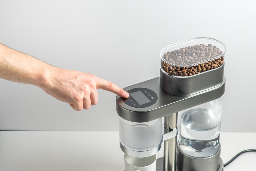 Auroma Coffee Maker Kickstarter : 3 Group coffee machine dimensions crafts