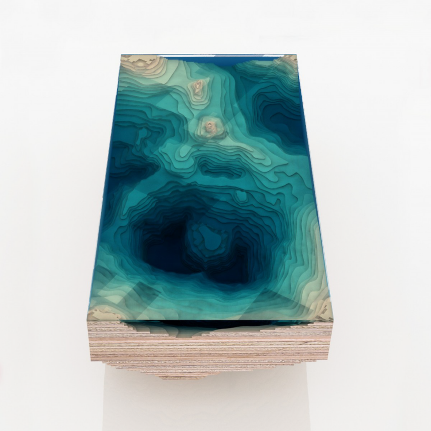 Another Table Design Inspired By Natural Bodies Of Water