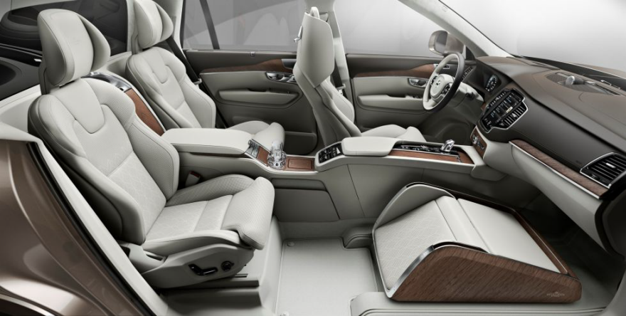 Volvo Designers Replace the Front Passenger Seat with ...