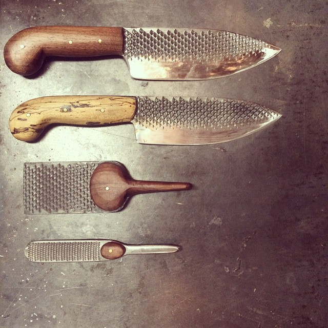 Chelsea Miller's Unusual Kitchen Knife Designs - Core77
