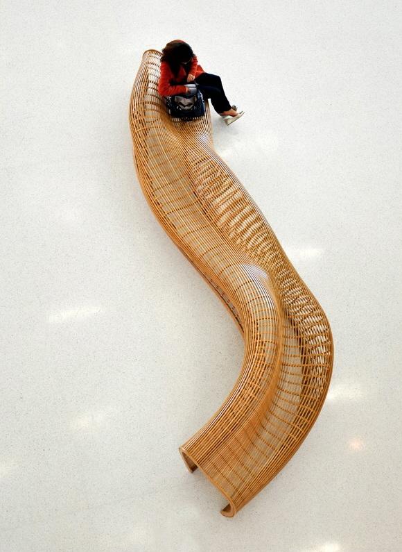 Matthias Pliessnig matthias pliessnig's gorgeous bentwood benches are growing - core77