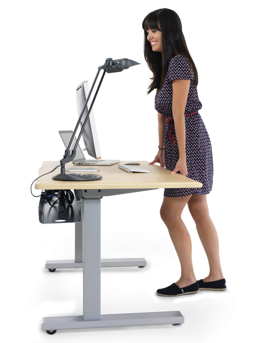 Staying Organized At A Sit Stand Desk Core77