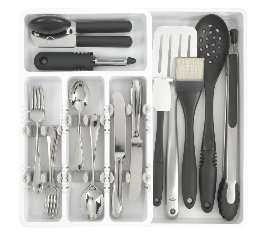 14 ways to organize the kitchen silverware drawer