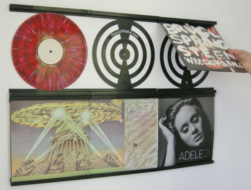 Storing Vinyl Records on the Wall - Core77