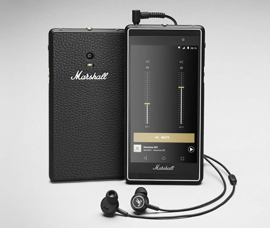 Marshall Develops Smartphone Designed Like One of Their ...