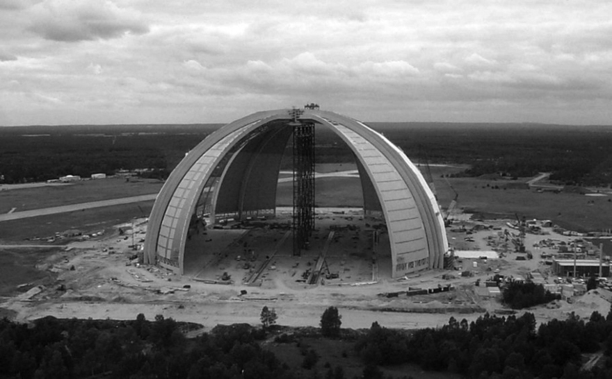 How A Failed Super Blimp Project Led To An Indoor Tropical