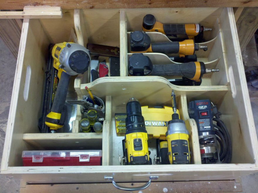 Removable Shop Drawers For Better Tool Transportation And Storage Core77