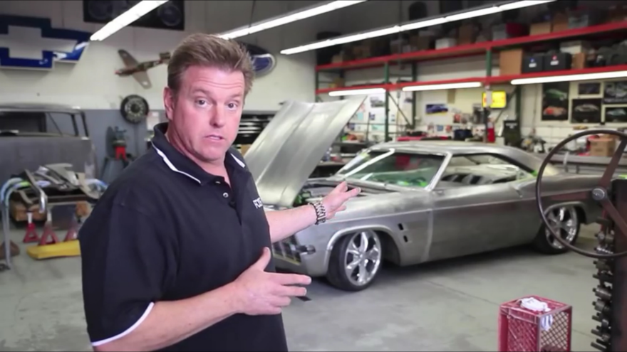 A Look Inside Auto Design Mastermind Chip Foose's Shop