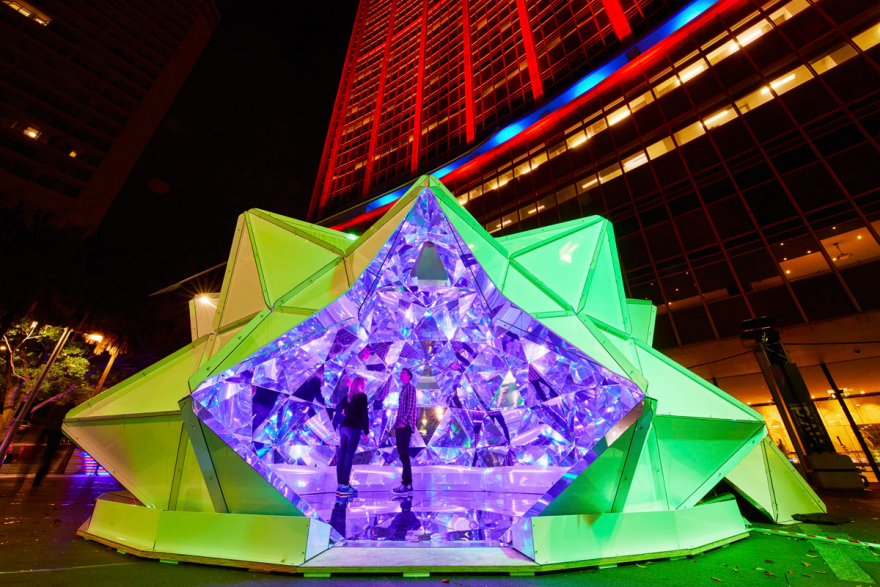 Making An Immersive Human Size Kaleidoscope Core77