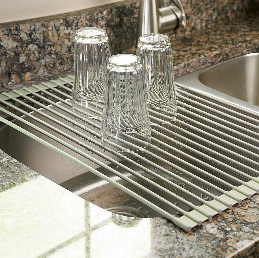 designs for small kitchens dish racks - Small Kitchen Sink With Drainer