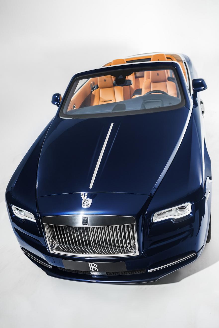 rolls royce dawn dark blue. A Smaller, Sportier Rolls Royce: Look At The New Silver Dawn Convertible Royce Dark Blue O
