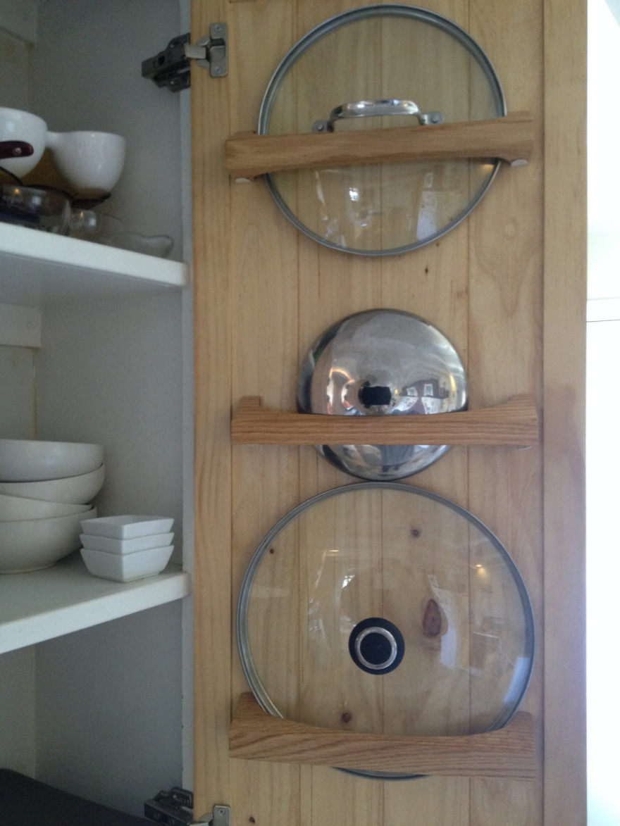 A Kitchen Organizing Challenge: Pot Lids - Core77