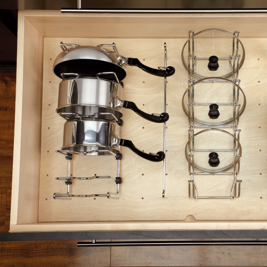A Kitchen Organizing Challenge Pot Lids Core77