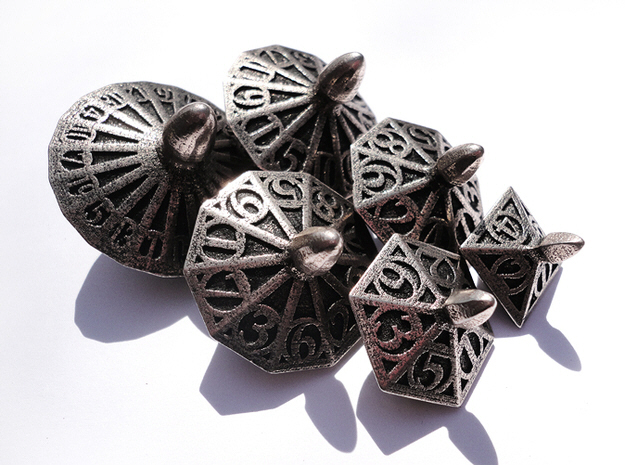 100 sided dice by shapeways 3d printing
