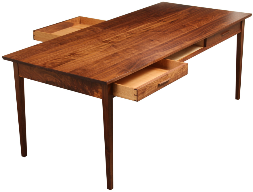 An uncommon storage space the dining table core77 Dining table with drawer