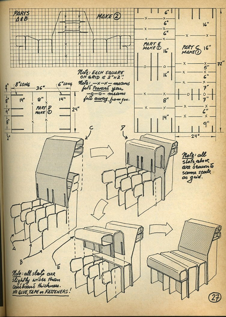 Quot Nomadic Furniture Quot Diy Designs From The 1970s Core77