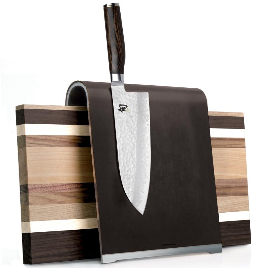 Kitchen Knife Storage Gets Interesting
