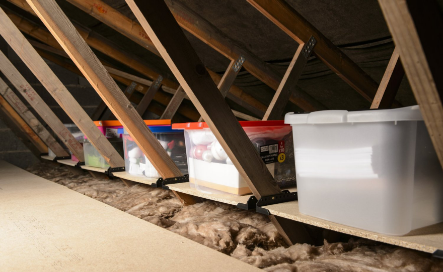 unfinished attic storage ideas - Making the Most of an Attic Core77