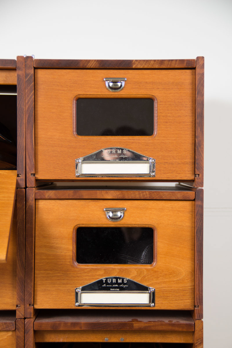 A Luxury Shoe Storage Systemu2014With Some Puzzling Craftsmanship Issues