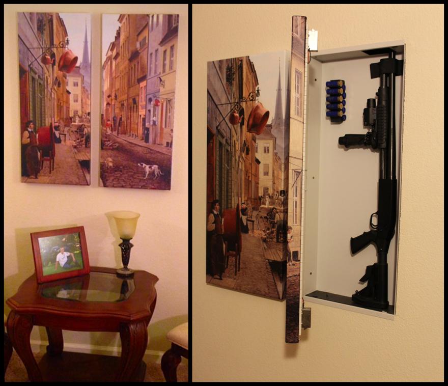 As Gun Sales Rise, Gun Concealing Furniture Designs Proliferate