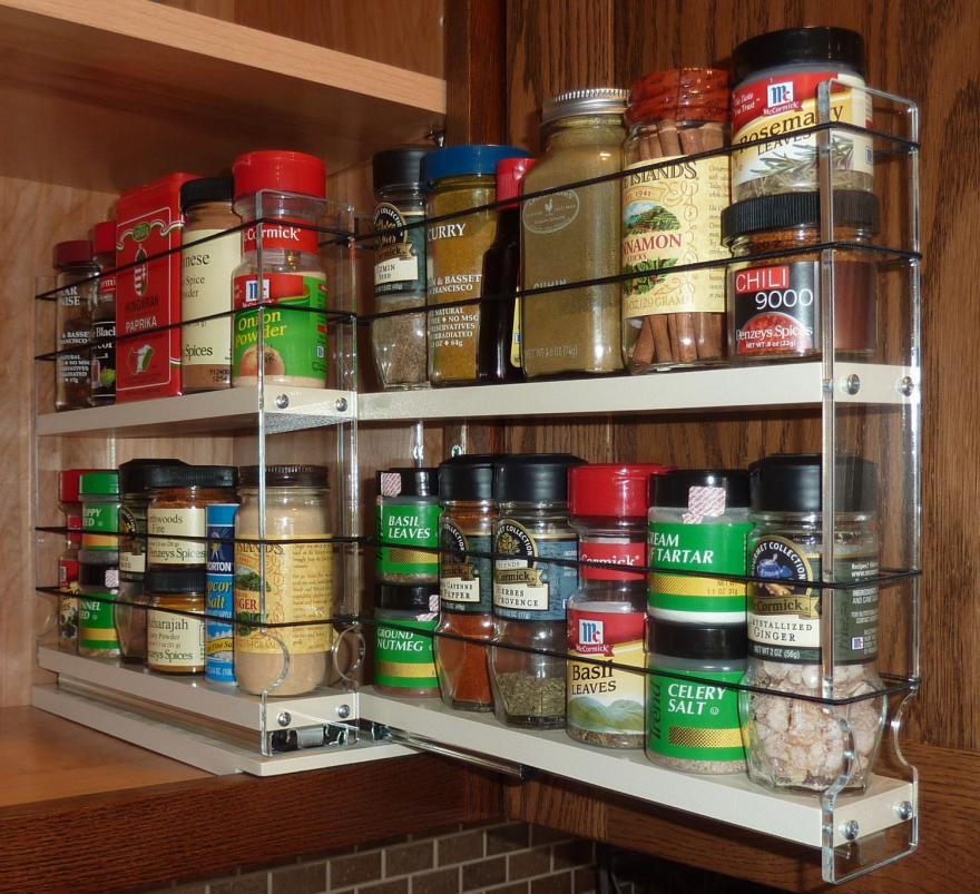 Kitchen Cabinet Spice Racks: How To End Spice Storage Madness, Part 1