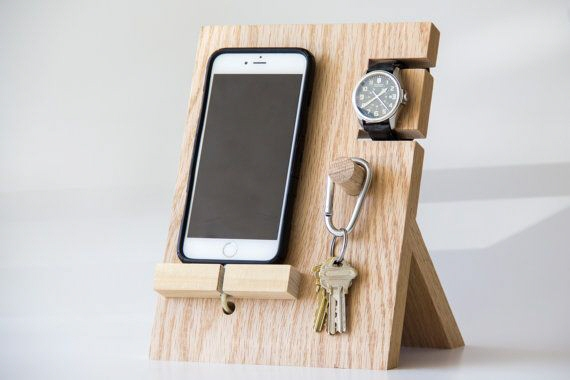 Key Stand Designs : Wooden valet trays part vertical core