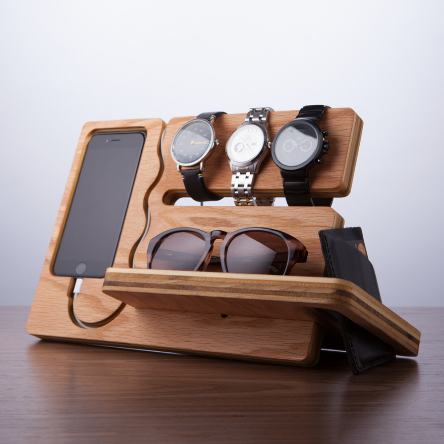 Wooden Valet Trays Part 2 Vertical Core77