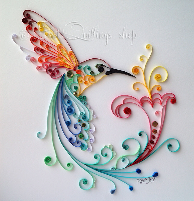 Quilling skills yulia brodskaya 39 s next level paper work for Quilling how to